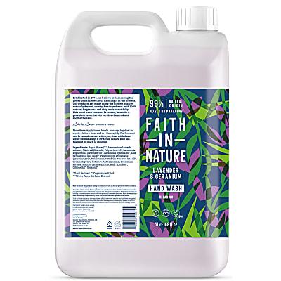 Savon Mains Liquide à la Lavande et au Géranium - 5L