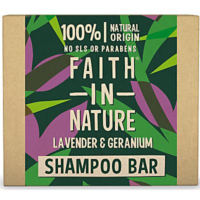 Shampoing Solide à la Lavande & au Géranium