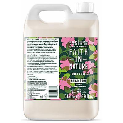Shampoing à la Rose Sauvage - 5L